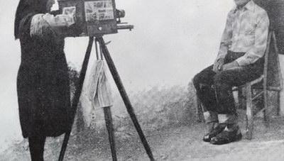 Η μοναδική πλανόδια φωτογράφος