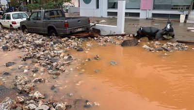 Ερώτηση στη Βουλή για τις αποζημιώσεις των πλημμυροπαθών του Δήμου Χερσονήσου