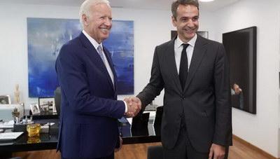 Κ. Μητσοτάκης: Ο Τζόν Μπαιντεν υπήρξε αληθινός φίλος της Ελλάδας