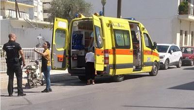 Τυμπάκι: Τροχαίο ατύχημα με έναν τραυματία
