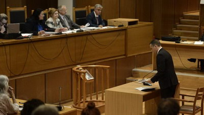 Κασιδιάρης για δίκη Χρυσής Αυγής: Διακηρύσσω την αθωότητά μου