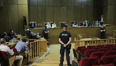 Δίκη Χρυσής Αυγής: Διακόπηκε η συνεδρίαση- Αύριο η απόφαση για τις αναστολές
