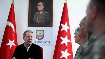 Ακάρ: «Η Τουρκία δεν θα δεχθεί τετελεσμένα και θα συνεχίσει να υπερασπίζεται τα δικαιώματά της»