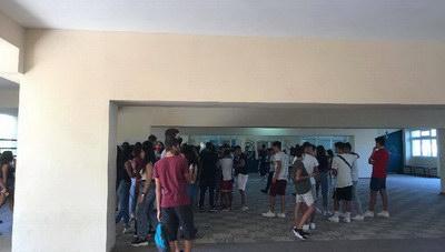 Ηράκλειο: Μάθημα σε «φουλαρισμένες» αίθουσες - Καμία μείωση στους μαθητες (φωτογραφίες)