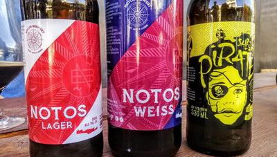 Μια ηρακλειώτικη προσπάθεια με ονοματεπώνυμο: Notos Brewery