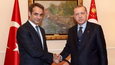 To τηλεφώνημα του Κυριάκου Μητσοτάκη με τον Τούρκο πρόεδρο