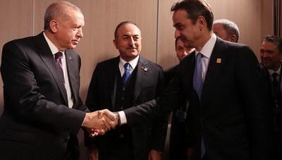 Το παρασκήνιο της συνομιλίας Μητσοτάκη-Ερντογάν...