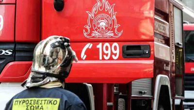 Χανιά: Νεκρός άνδρας από φωτιά μέσα στο σπίτι του