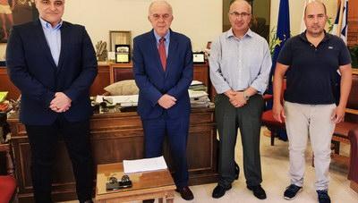 Προγραμματική σύμβαση του Δήμου Ηρακλείου με το ΙΤΕ για την παρακολούθηση των εκπομπών διοξειδίου του άνθρακα