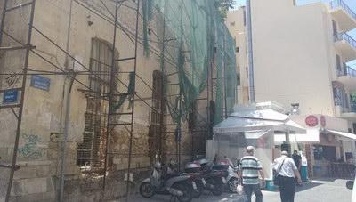 Θέμα newshub.gr: Προσπάθειες για να σωθεί το Τρανταλλίδειο κτίριο