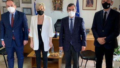 Πλακιωτάκης και Οικονόμου άκουσαν τα προβλήματα των αστυνομικών του Λασιθίου