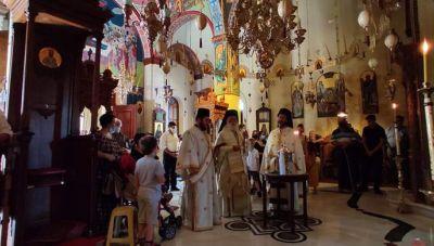 Στην Ιερά Μονή Αγκαράθου σήμερα ο  Πατριάρχης Αλεξανδρείας και Πάσης Αφρικής Θεόδωρος