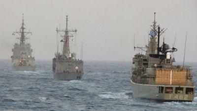 Κρήτη: Συνεκπαίδευση ελληνικών πλοίων με ναυτικές Μονάδες του ΝΑΤΟ (φωτογραφίες)