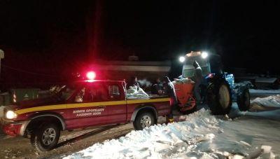 Δήμος Οροπεδίου: Συνεχίζεται η αποκατάσταση των ζημιών - Σε επιφυλακή το προσωπικό του Δήμου (φωτογραφίες)