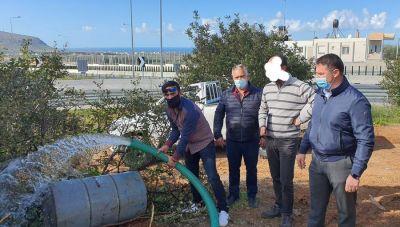 Δήμος Χερσονήσου: Αξιοποίηση της γεώτρησης στον κόμβο Καστελίου