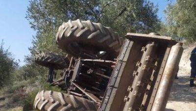 Ασύλληπτη τραγωδία στο χωράφι: Ζευγάρι αγροτών καταπλακώθηκε από τρακτέρ! (φωτογραφίες)