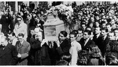 Ο θάνατος του Κωστή Παλαμά στις 27 Φλεβάρη 1943