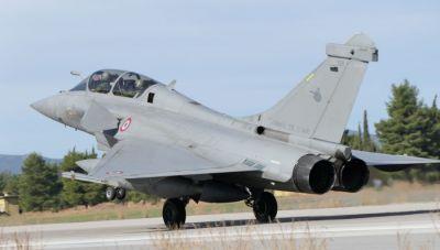 Στην Τανάγρα 4 Rafale της Γαλλικής Πολεμικής Αεροπορίας