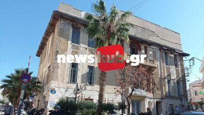 Θέμα newshub.gr: Κίνδυνος από τα κτίρια- ερείπια στην καρδιά του Ηρακλείου ελέω… γραφειοκρατίας (φωτογραφίες)