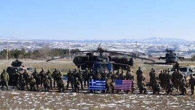 Κοινή εκπαίδευση για επίλεκτες μονάδες της Ελλάδας και των ΗΠΑ (φωτογραφίες)