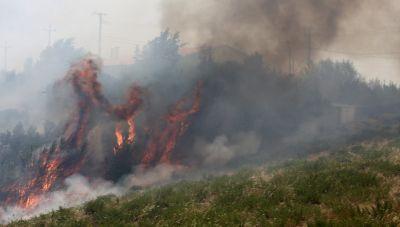 Φωτιά στη Σάμο: Ο αέρας το μεγαλύτερο «αγκάθι» στην πυρόσβεση