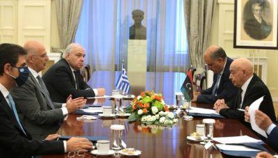 Νίκος Δένδιας: Θα βοηθήσουμε για να φύγουν οι ξένες δυνάμεις από το έδαφος της Λιβύης