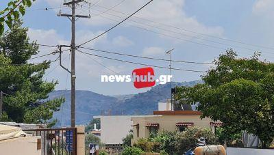 Δ. Μινώα Πεδιάδας: Χτυπησε η καμπάνα του χωριού για τη νέα φωτιά! (φωτογραφίες)