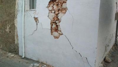 Δ. Μινώα Πεδιάδας: Συνεχίζονται οι σεισμοί - Καταγράφοντα οι ζημιές σε σπίτια στα χωριά (βίντεο +φωτογραφίες)