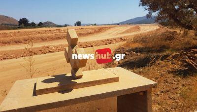 ΑΠΟΚΛΕΙΣΤΙΚΟ - Δ. Μινώα Πεδιάδας: Έθαβαν τους νεκρούς, χωρίς να γνωρίζουν ότι το νεκροταφείο θα γίνει... δρόμος (φωτογραφίες)