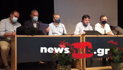 Σύσκεψη για τους σεισμούς στο Αρκαλοχώρι: Το φαινόμενο θα συνεχιστεί και τα κτίρια έχουν καταπονηθεί (βίντεο-φωτο)