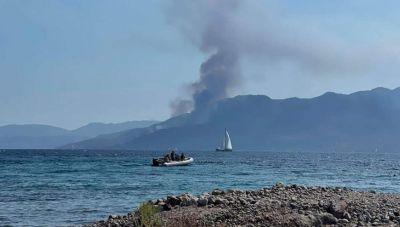 Mέθανα: Κάηκε σπίτι στην Κυψέλη Τροιζηνίας
