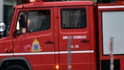 Φωτιά σε διαμέρισμα στη Φρεαττύδα
