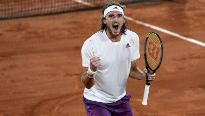 Μια μεγάλη στιγμή για το ελληνικό τένις: Στον τελικό του Roland Garros ο φανταστικός Τσιτσιπάς