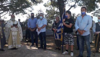 O Δήμος Πλατανιά τίμησε την επέτειο της Μάχης του Δρομονέρου