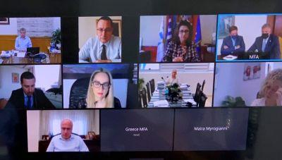 Σε τηλεδιάσκεψη για το μέλλον της  Ευρώπης ο Αρναουτακης