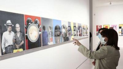 Σακελλαροπούλου για το ΕΜΣΤ: «Συνδέει τη σύγχρονη ελληνική δημιουργία με τη διεθνή καλλιτεχνική σκηνή»