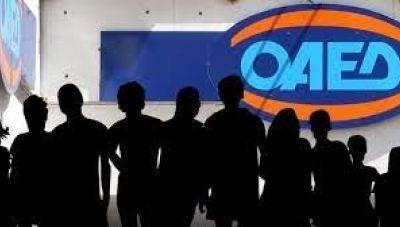 ΟΑΕΔ: 1.099.013 εγγεγραμμένοι άνεργοι τον Απρίλιο του 2021