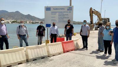 Ιεράπετρα: Ξεκινάει το έργο κατασκευής ύφαλου κυματοθραύστη