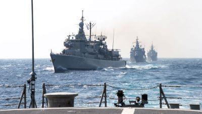 Συμμετοχή των Ενόπλων Δυνάμεων σε αεροναυτική άσκηση του ΝΑΤΟ δυτικά της Κρήτης (φωτογραφίες)