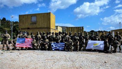 Κρήτη: Κοινή εκπαίδευση στη Σούδα των Ειδικών Δυνάμεων Ελλάδας, Κύπρου και ΗΠΑ