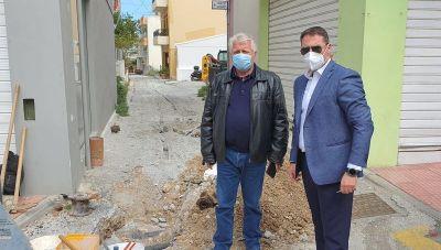 Χερσόνησος: Σύνδεση της οδού Μιχαήλ Ασπετάκη με τα δίκτυα ύδρευσης και αποχέτευσης