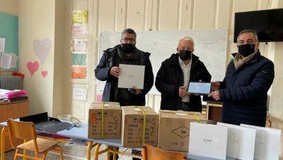 90 τάμπλετ για τα σχολεία στο Οροπέδιο Λασιθίου
