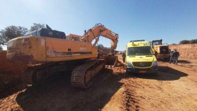 Οι εργαζόμενοι για τον νεκρό στο εργοτάξιο του νέου αεροδρομίου στο Καστέλι