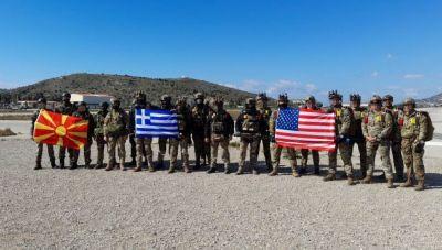 Συνεκπαίδευση ειδικών δυνάμεων από Ελλάδα, ΗΠΑ και Βόρεια Μακεδονία