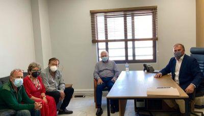 Θέματα του Δήμου Ιεράπετρας στη συνάντηση Καλαντζάκη με Θραψανιώτη