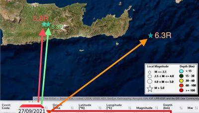Ικανοποίηση Γ. Χουλιάρα για τις σεισμικές ακολουθίες σε Αρκαλοχώρι και Σητεία