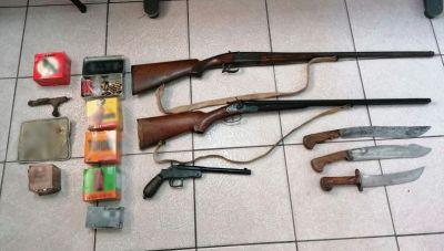 Κρήτη: Βρήκαν μίνι-οπλοστάσιο στα σπίτια τους- Συλλήψεις 2 ατόμων