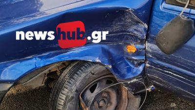 Δ.Μινώα Πεδιάδας: Σοκαρισμένες οι οδηγοί μετά το τροχαίο - Εγινε απεγκλωβισμός από περαστικούς