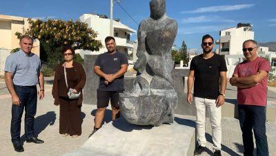 Ιεράπετρα: Τοποθετήθηκε το Μνημείο Μικρασιατών στην ομώνυμη πλατεία
