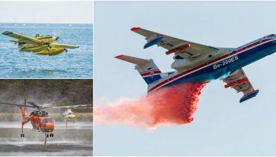 Τα 29 εναέρια «όπλα» που μισθώθηκαν για τις φετινές πυρκαγιές: Ενισχύεται ο στόλος μας